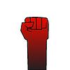 Векторный клипарт: Революция кулак