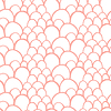 Nahtlose Muster mit abstrakten stilisierte Waage