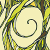 Abstrakten doodle ornamentalen nahtlose Muster | Stock Vektrografik