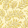 가지와 꽃 원활한 패턴 | Stock Vector Graphics