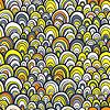 Nahtlose Muster mit abstrakten doodle Skala Textur