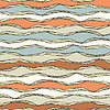 nahtlose Muster mit abstrakten wellig Ornament