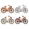 Fahrräder | Stock Vektrografik