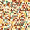 추상적 인 기하학적 삼각형 원활한 패턴 | Stock Vector Graphics