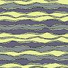 Nahtlose Muster mit abstrakten Wellen Ornament