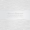 Abstrakter Hintergrund mit Wellen Ornament | Stock Vektrografik