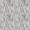 Векторный клипарт: Бесшовные с каракули волн орнаментом