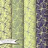 Векторный клипарт: Габаритные бабочки бесшовные модели набор