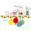Векторный клипарт: картина кухне