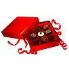 Векторный клипарт: коробка конфет