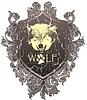 Векторный клипарт: волк