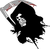 Векторный клипарт: мертвых череп