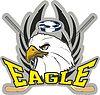 Векторный клипарт: Хоккей орел