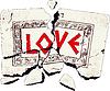 Векторный клипарт: камень любви