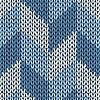 Styl Jednolite wzór z dzianiny koloru   Stock Vector Graphics