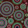 Abstrakte Nahtlose ethnische Art-Kreis Einfache