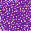 花卉无缝彩色图案 | 向量插图