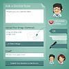 Ärzte Online-Konsultation Formular
