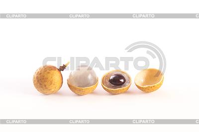 Fresh longan fruits, or dragon eye | Foto stockowe wysokiej rozdzielczości |ID 4129992