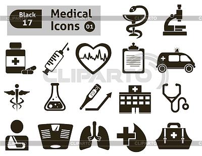 Medizinische Icons | Stock Vektorgrafik |ID 4123569