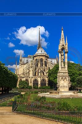 Katedra Notre-Dame de Paris | Foto stockowe wysokiej rozdzielczości |ID 4306079