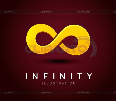 Symbol of infinity | Klipart wektorowy |ID 4374456