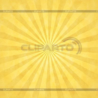 Żółte tło akwarela z promieniami | Klipart wektorowy |ID 4118176