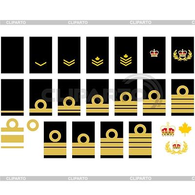 Kanadische Marine Insignien | Stock Vektorgrafik |ID 4340778