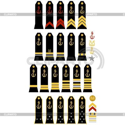 Insignia of French Navy | Klipart wektorowy |ID 4417310