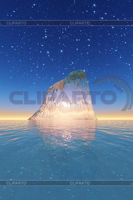 Eisberg | Illustration mit hoher Auflösung |ID 4096575