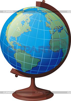 Szkoła globe | Klipart wektorowy |ID 4081860