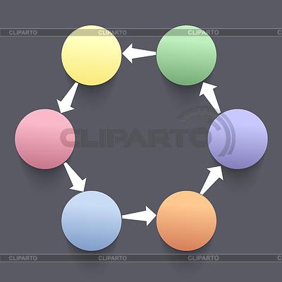??? 8Modern Geschäfts Schritt Optionen | Illustration mit hoher Auflösung |ID 4245099