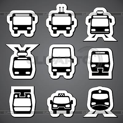 Белые иконки для меню сайта - 446dc