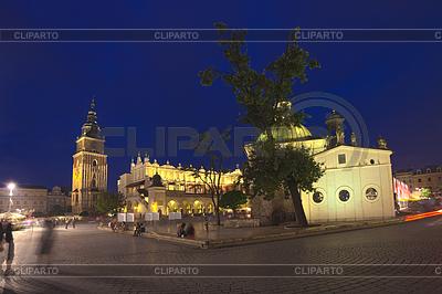 Kraków Stare Miasto Rynek Główny | Foto stockowe wysokiej rozdzielczości |ID 4485187