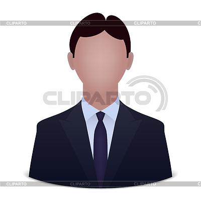Biznesmen avatar | Klipart wektorowy |ID 4361839