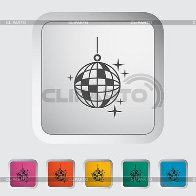 Дискотечный шар | Векторный клипарт |ID 4373135