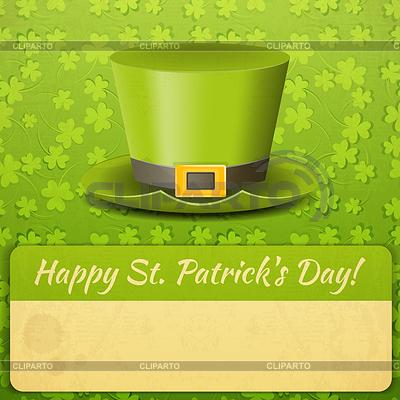 Patricks Day Card | Klipart wektorowy |ID 4101619