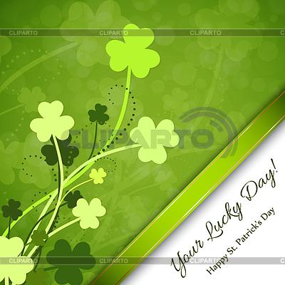 Dzień św Patryka w tle | Klipart wektorowy |ID 4137216