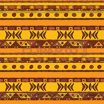 African etniczne szwu tła | Klipart wektorowy |ID 4158747