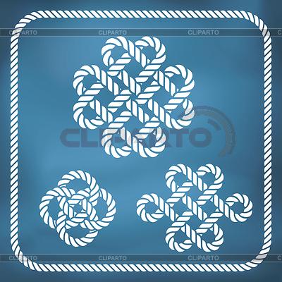 Dekorative Seil Knoten | Illustration mit hoher Auflösung |ID 4363828