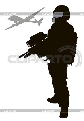 Future Soldier | Klipart wektorowy |ID 4477107