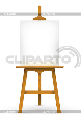 Easels stock photos and vektor eps clipart cliparto - Caballete para pintar ...