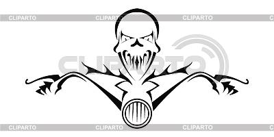 Tod Monster auf dem Motorrad | Stock Vektorgrafik |ID 4128419