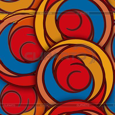 Szwu z abstrakcyjne kwiaty róż | Klipart wektorowy |ID 4305238
