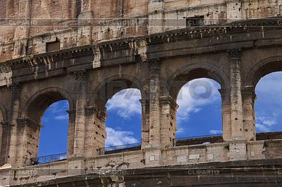 Ruiny Koloseum w Rzymie, Włochy | Foto stockowe wysokiej rozdzielczości |ID 4489289