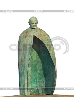 Statue von Papst Johannes Paul II im Park in der Nähe von Termini | Foto mit hoher Auflösung |ID 4519048