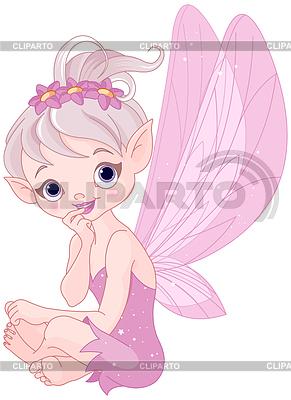 Listening fairy | Klipart wektorowy |ID 4386701