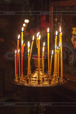 Innenansicht der russisch-orthodoxen Kirche | Foto mit hoher Auflösung |ID 4090425