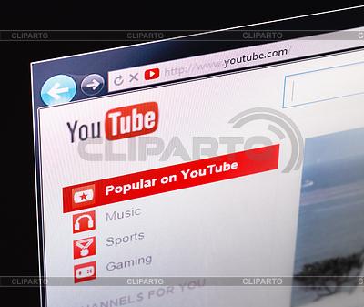 YouTube-Startseite | Foto mit hoher Auflösung |ID 4093022