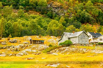 挪威木屋 | 高分辨率照片 |ID 4503168